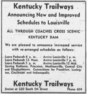 Ky Trail 1952