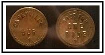 caseyville tokens
