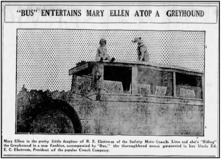 safety motor coach 1927 a