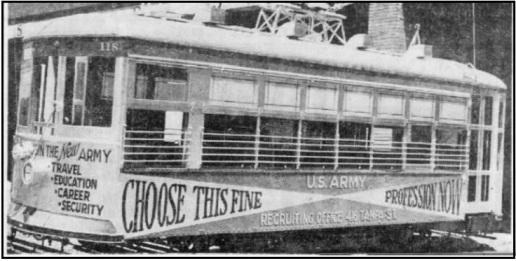 Tampa streetcar 1946